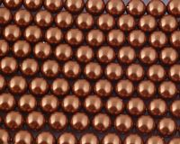 8mm SWAROVSKI® ELEMENTS Copper Crystal Pearl Beads - 20 pearls for jewellery making, beadwork and craft